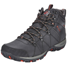 Columbia Peakfreak Venture Shoes Men Mid WP Omni-HEAT black / sanguine